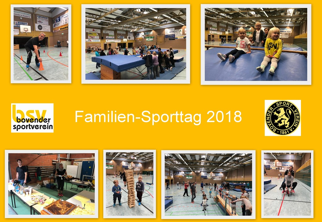 Familiensporteln Collage